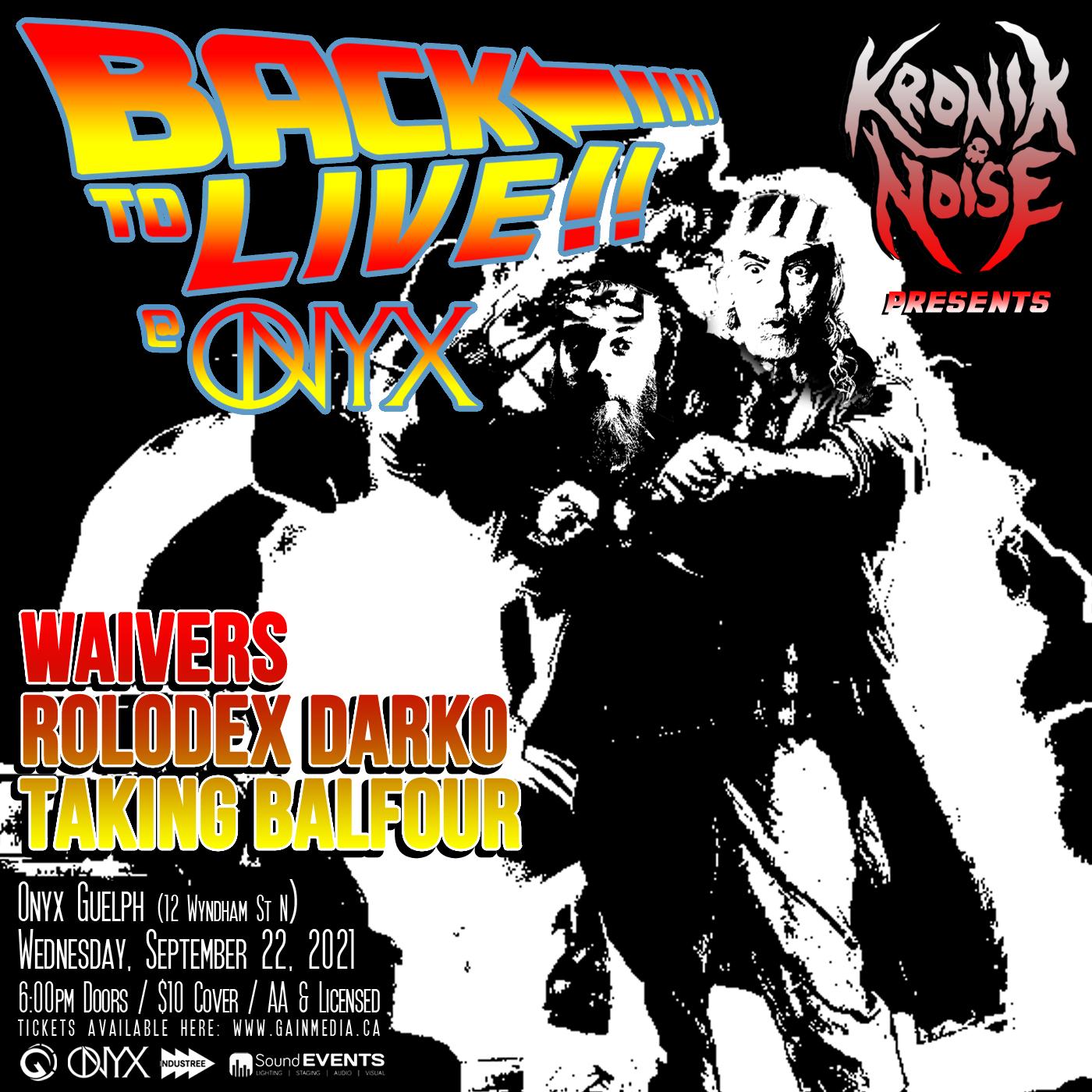 waiversmusic, rolodexdarko and taking balfour